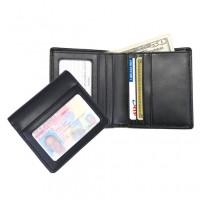 100-6 Double Id Bi-Fold Wallet